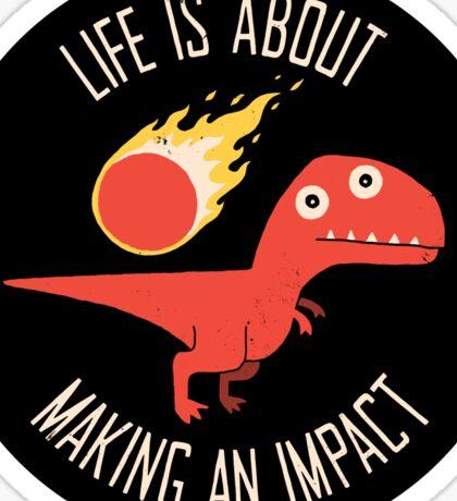 Making An Impact Sticker