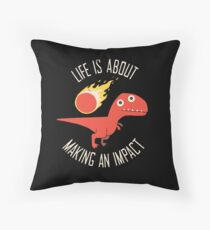 Making An Impact Throw Pillow
