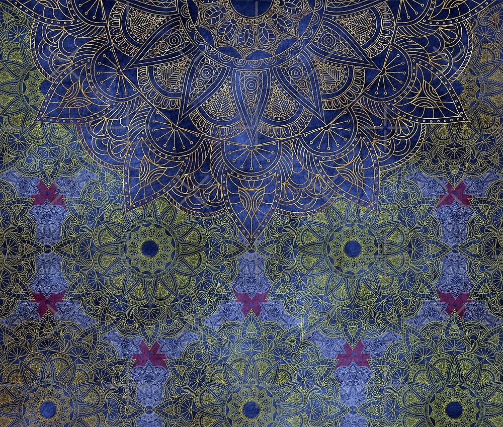Mandala - Deep Ocean by aleibanez