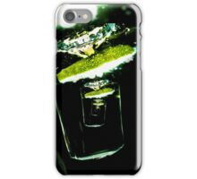 Water with a slice of lime iPhone Case/Skin
