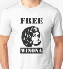 Winona Ryder - Free Winona T-Shirt