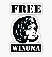 Winona Ryder - Free Winona Sticker