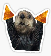 Dorito Otter Sticker