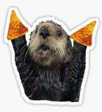 Dorito Otter Sticker