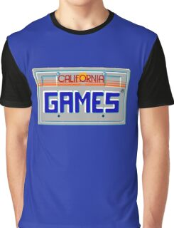 CALIFORNIA GAMES - SEGA MASTER SYSTEM Graphic T-Shirt