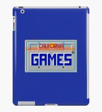 CALIFORNIA GAMES - SEGA MASTER SYSTEM iPad Case/Skin