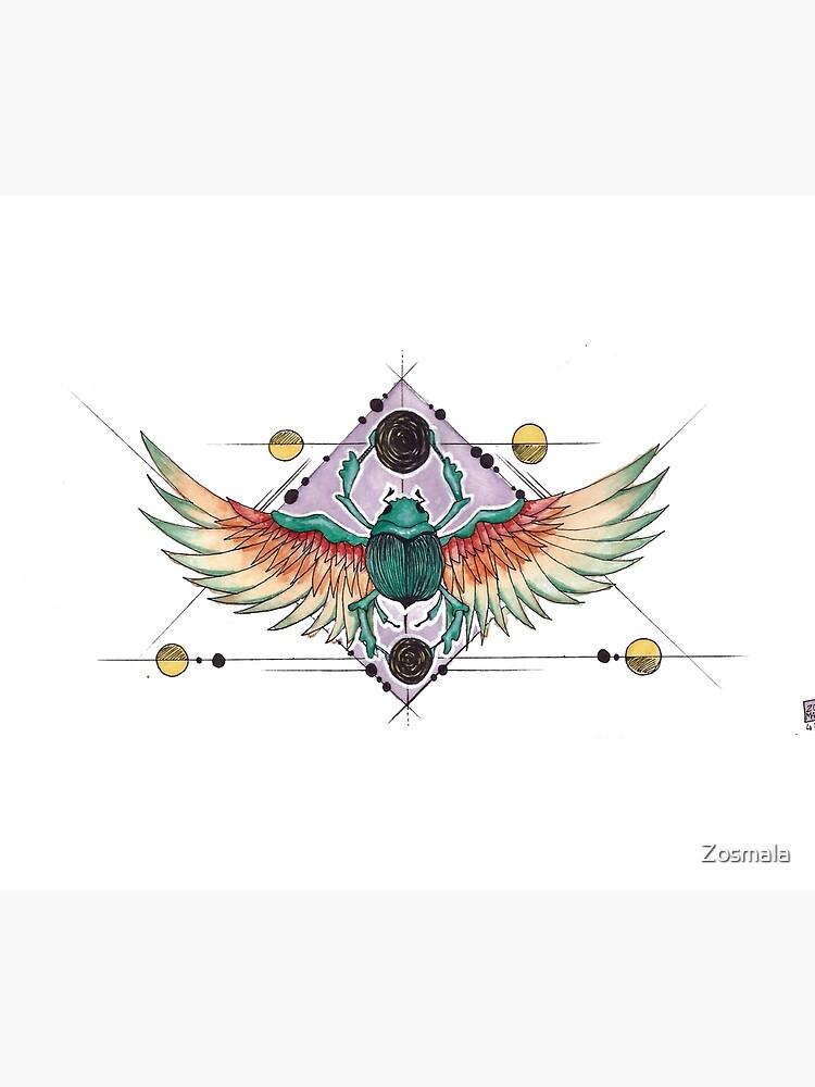 «Mighty beetle - Watercolor» par Zosmala