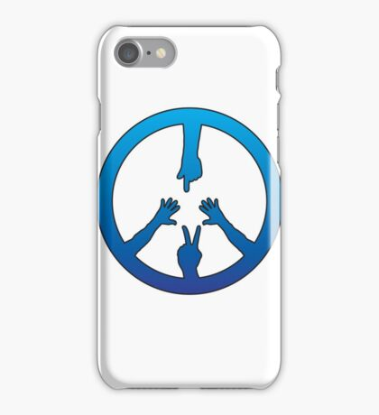 Peace Brothers and Sisters iPhone Case/Skin