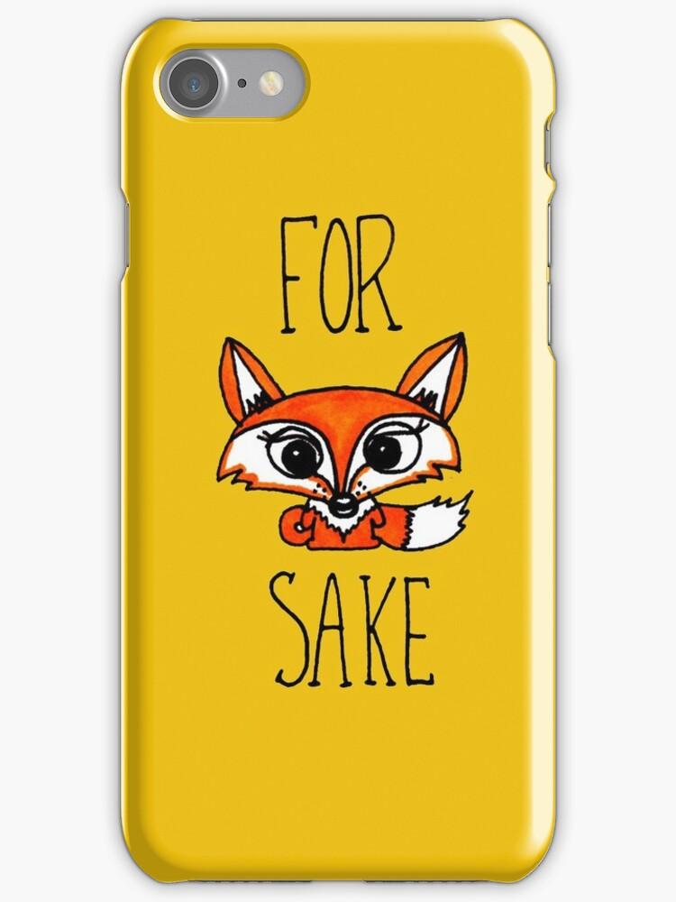 For Fox Sake Cute New by mayakarina