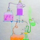 Science Lab Wonderland by Tony  Bazidlo