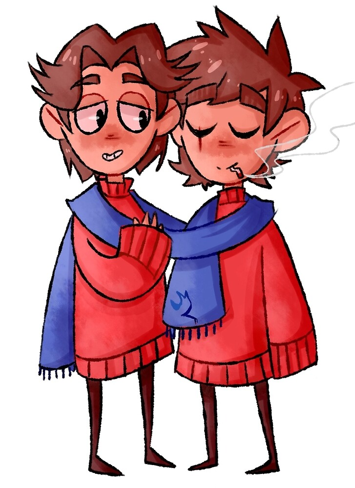 Eddsworld - Paultryk Hugs by local-asshole
