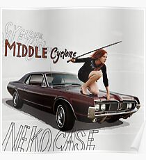 Neko Case - Middle Cyclone Poster