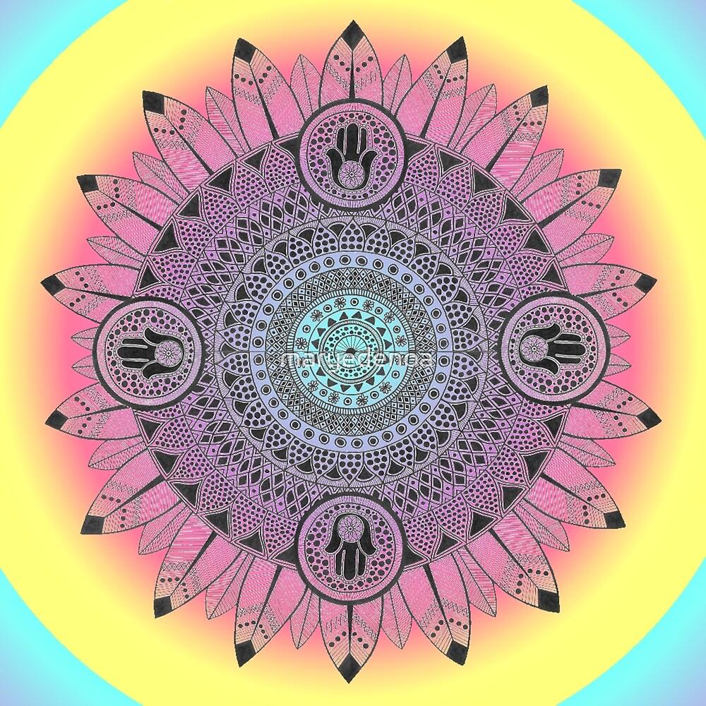 Colorful Mandala by maryedenoa