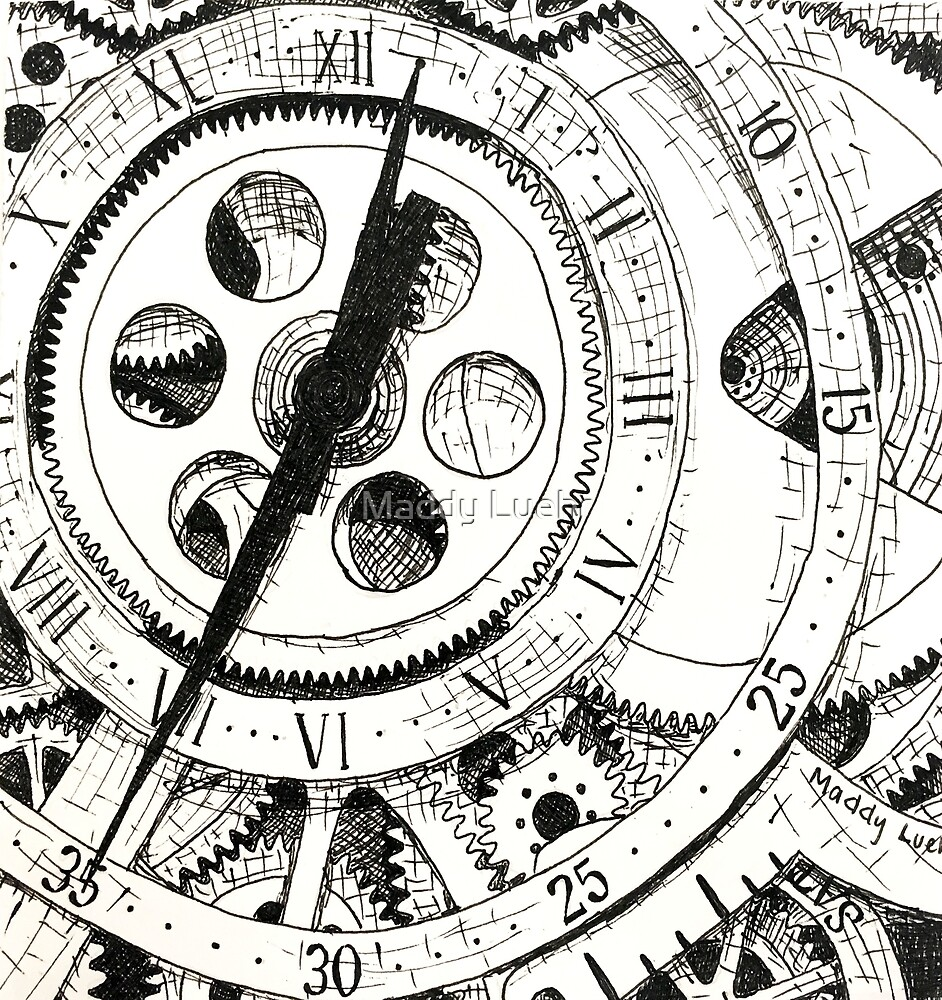 Watch in Ink by maddyluehr