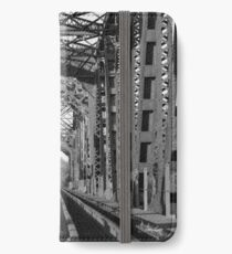 Richmond Texas Rail Road Bridge iPhone Wallet/Case/Skin