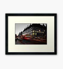 Westminster Lights Framed Print