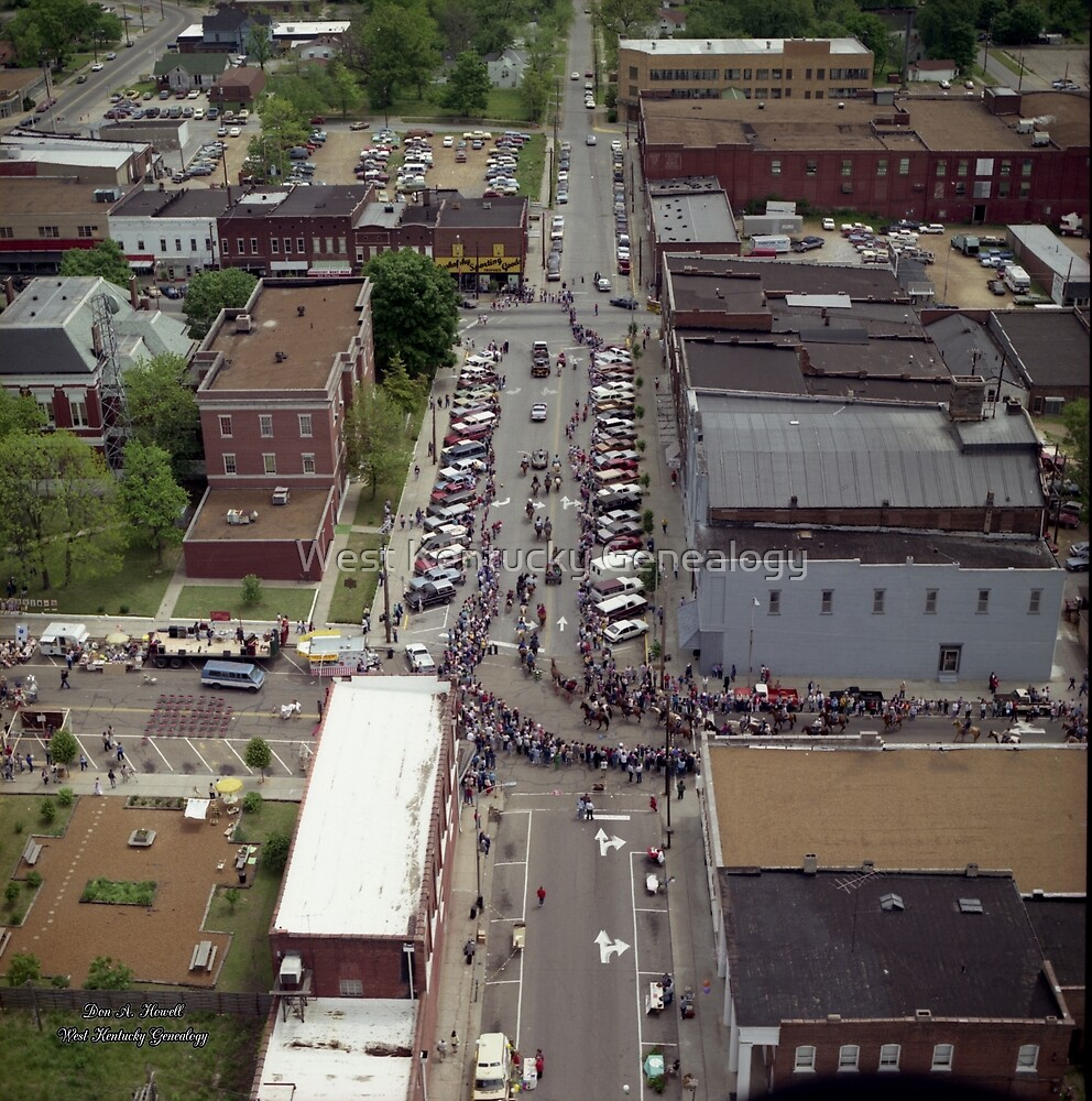 """No.21, 1986 """"Mayfest"""" in Mayfield, Graves County, Kentucky by Don Howell"""