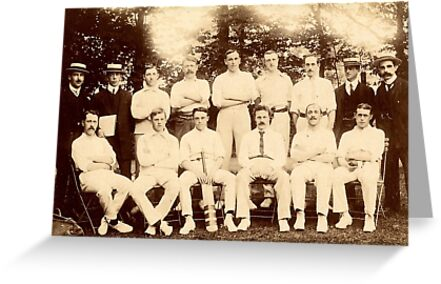Sheffield Wednesday Cricket Club, c. 1900 by sheffarchives