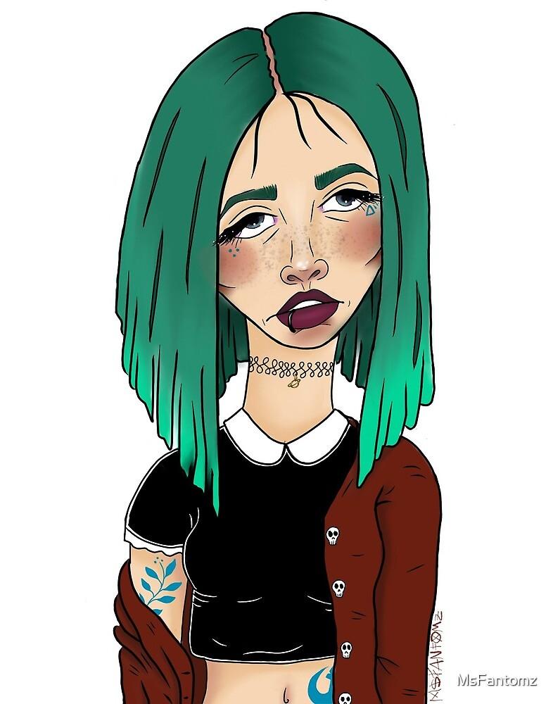 Demon Girls - Lacey by MsFantomz