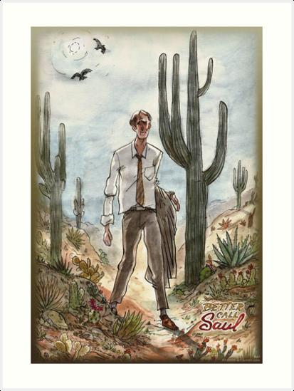 * Better Call Saul * The Desert by 000000-art