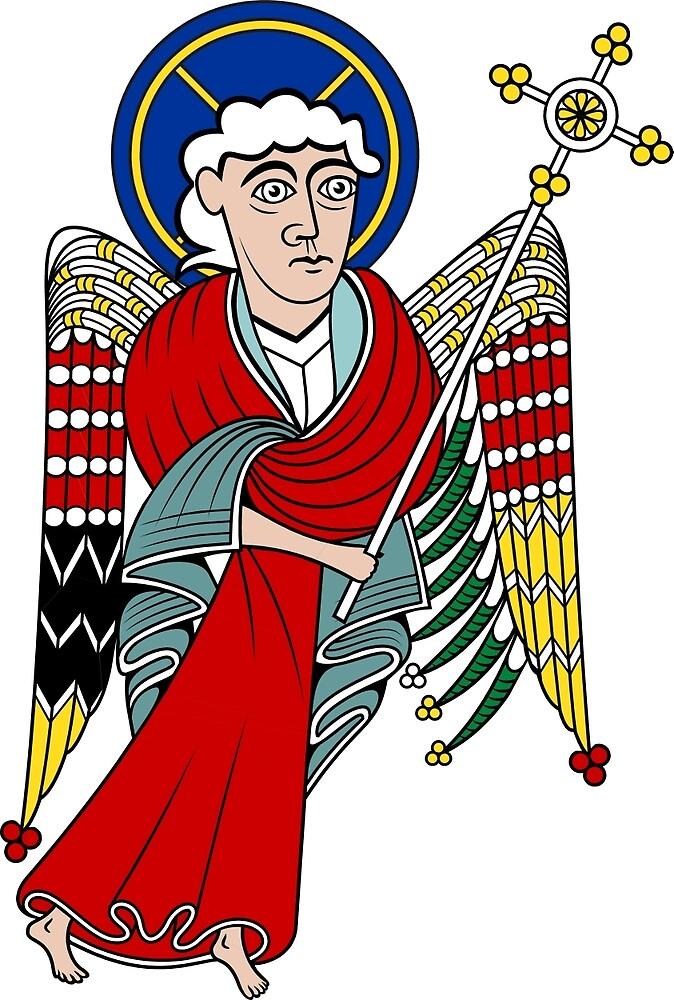 Angelic SAINT MATHEW by CatholicSaints