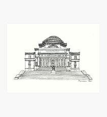 Low Library, Columbia University Art Print