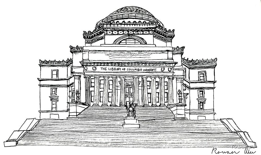 Low Library, Columbia University by rowanwu