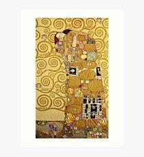 Gustav Klimt - Fulfilment  Art Print