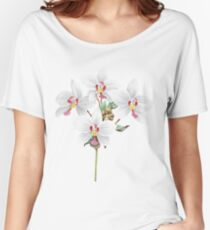 FF - Vintage - Flower-Orchid Women's Relaxed Fit T-Shirt