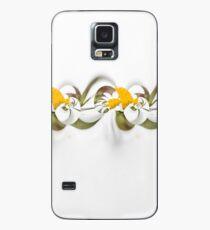 Flower ribbon Case/Skin for Samsung Galaxy