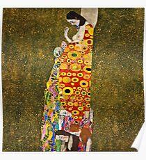 Gustav Klimt - Hope, Ii 1907 - 1908  Poster