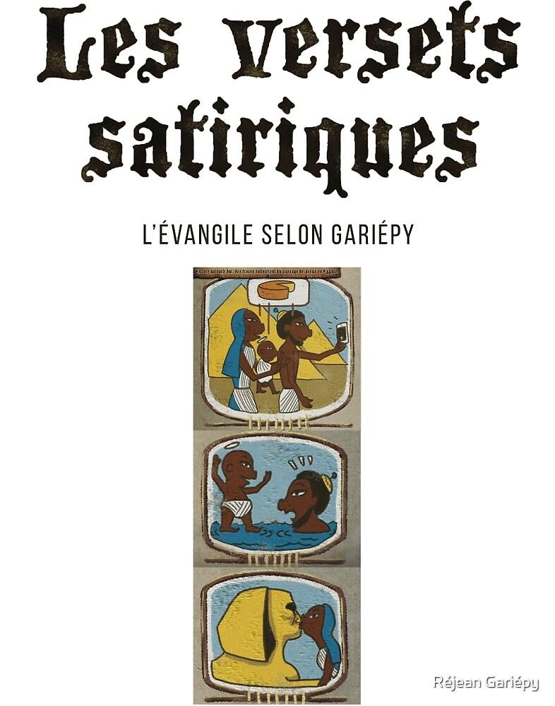 The satirical verses - Egypt by Réjean Gariépy