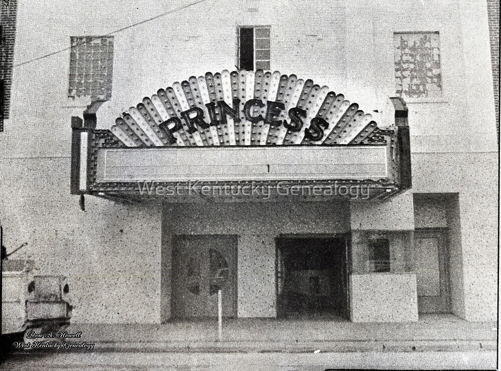 The Princess Theatre, Mayfield, Graves County, Kentucky by Don A. Howell