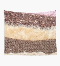 Knit layers Wall Tapestry