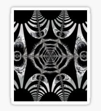 Abstract shapes and patterns Sticker