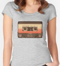 Galactic Soundtrack Women's Fitted Scoop T-Shirt