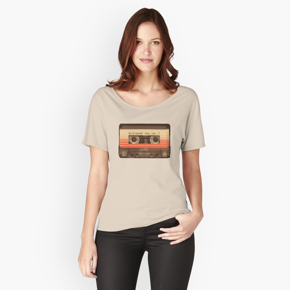 Galactic Soundtrack Women's Relaxed Fit T-Shirt Front