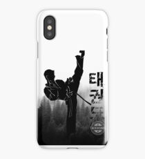 Taekwondo Korean High Kick iPhone Case/Skin