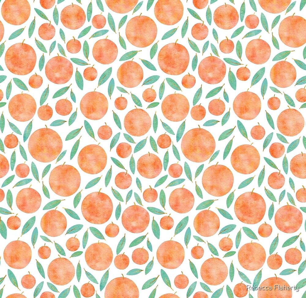 « Citrus Pattern » par Rebecca Flaherty