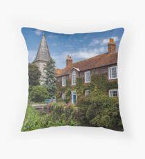 Bosham church Throw Pillow