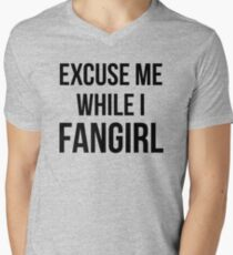 Excuse Me While I Fangirl T-Shirt