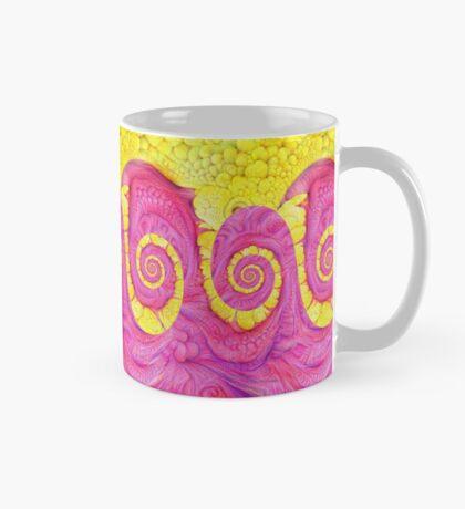 Yellow and Pink Mug