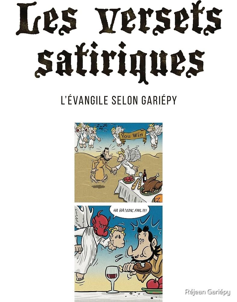 The satirical verses - Temptation 1 by Réjean Gariépy