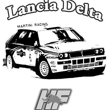 Lancia Delta Hf by EnricoV