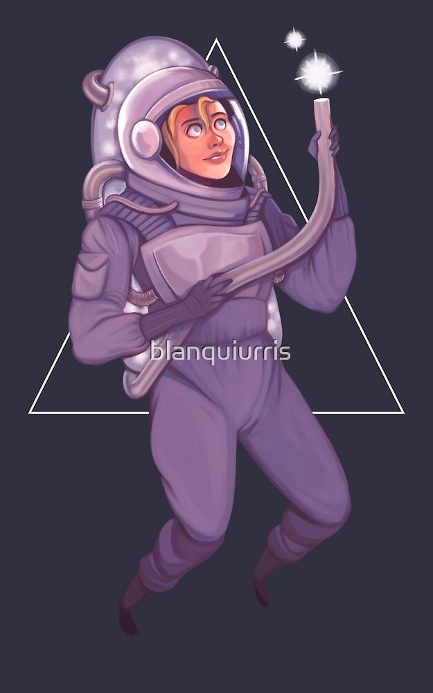 Cosmonaut by blanquiurris