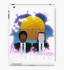 80s Inspired Pulp Fiction iPad Case/Skin