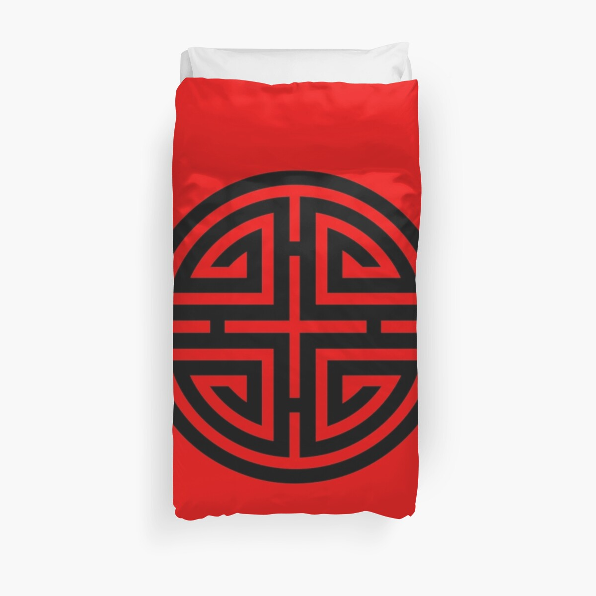 Chinese good fortune symbol images symbol and sign ideas four blessings chinese good luck symbol duvet covers by anne four blessings chinese good luck symbol buycottarizona Images