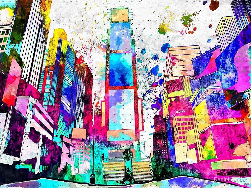 Times Square Grunge by Daniel Janda