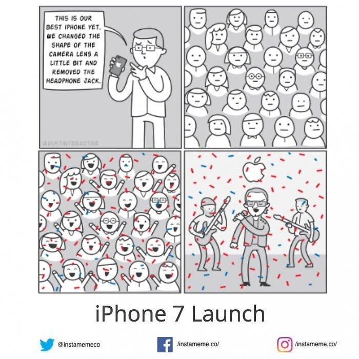 Iphone 7 launch comic by anya246
