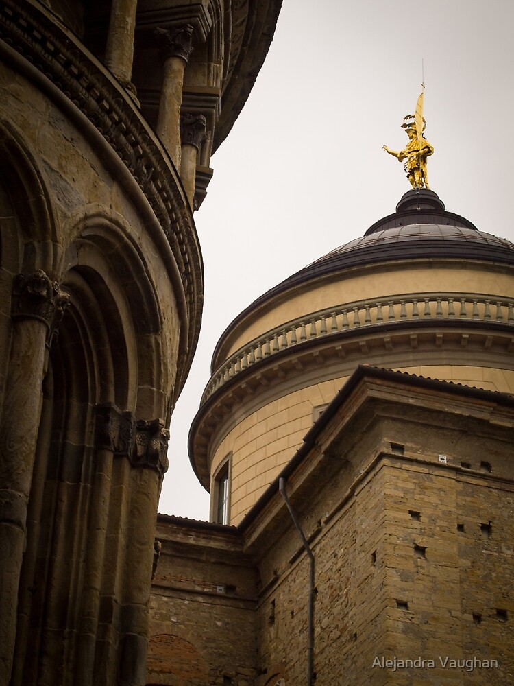 Duomo di Bergamo by Alexandra Vaughan